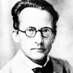 Author Erwin Schrodinger