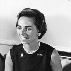 Author Ethel Kennedy