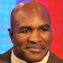 Author Evander Holyfield