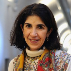 Author Fabiola Gianotti