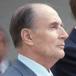 Author Francois Mitterrand