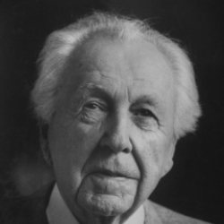 Author Frank Lloyd Wright