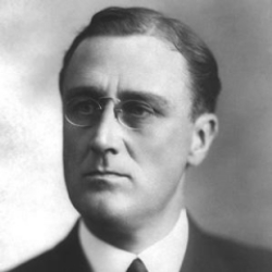 Author Franklin D. Roosevelt