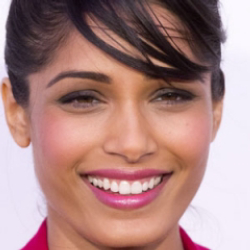 Author Freida Pinto