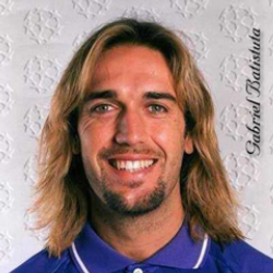 Author Gabriel Batistuta