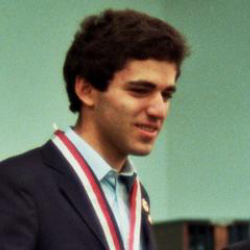 Author Garry Kasparov