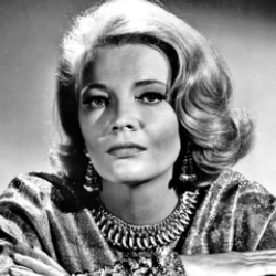 Author Gena Rowlands