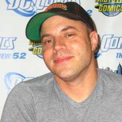 Author Geoff Johns