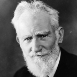 Author George Bernard Shaw