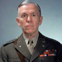Author George C. Marshall