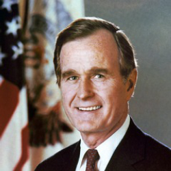 Author George H. W. Bush