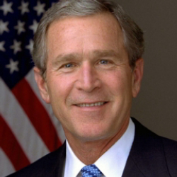 Author George W. Bush