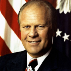 Author Gerald R. Ford