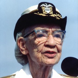 Author Grace Hopper