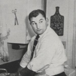 Author Hank Stram