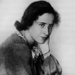 Author Hannah Arendt