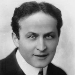 Author Harry Houdini