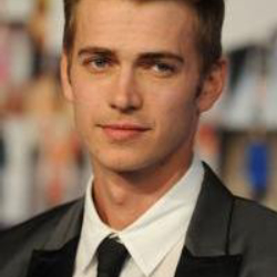 Author Hayden Christensen