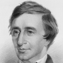 Author Henry David Thoreau
