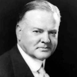 Author Herbert Hoover