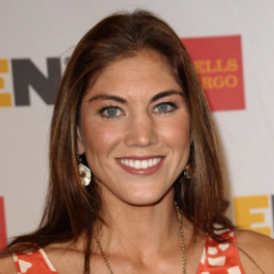 Author Hope Solo