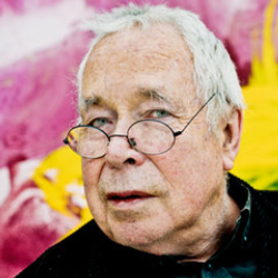 Author Howard Hodgkin