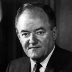 Author Hubert H. Humphrey