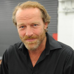 Author Iain Glen