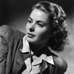 Author Ingrid Bergman