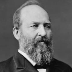 Author James A. Garfield