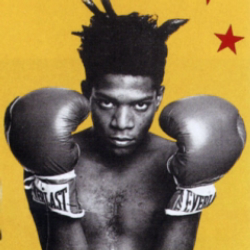 Author Jean-Michel Basquiat