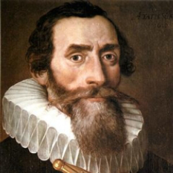 Author Johannes Kepler