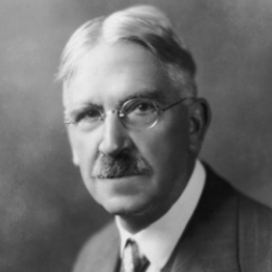 Author John Dewey