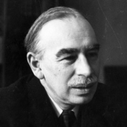 Author John Maynard Keynes