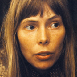 Author Joni Mitchell