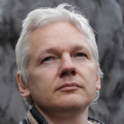 Author Julian Assange