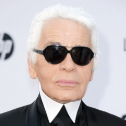 Author Karl Lagerfeld