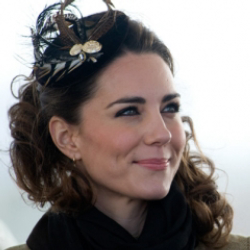 Author Kate Middleton