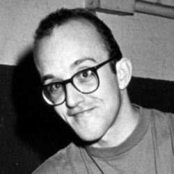 Author Keith Haring
