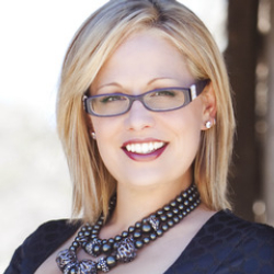 Author Kyrsten Sinema