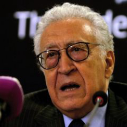 Author Lakhdar Brahimi