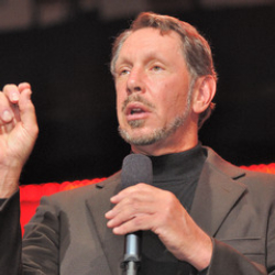 Author Larry Ellison
