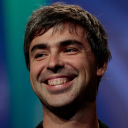Author Larry Page