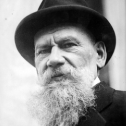 Author Leo Tolstoy