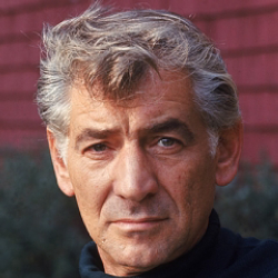 Author Leonard Bernstein