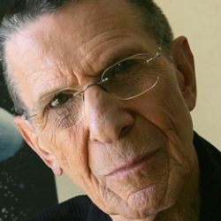 Author Leonard Nimoy
