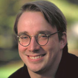 Author Linus Torvalds