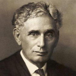 Author Louis Brandeis