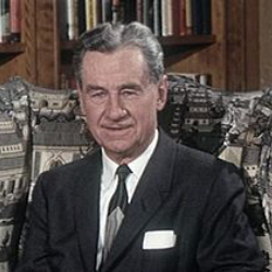 Author Lowell Thomas