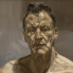 Author Lucian Freud